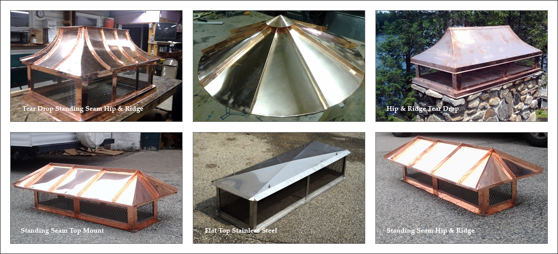 Custom Chimney Caps Amp Covers Copper Steel Aluminum